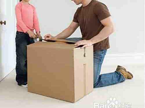 对纸箱顶部进行封箱